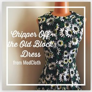 Chipper Off the Old Block Dress -from ModCloth